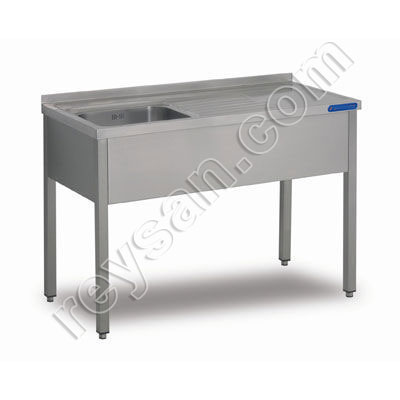 Stainless steel sinks for industrial use
