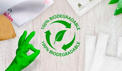 Discover our new biodegradable products