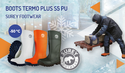 Termo PLUS S5 polyurethane boots with UltraGrip SRC sole