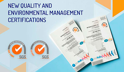 Reysan renews its Quality and Environmental certifications