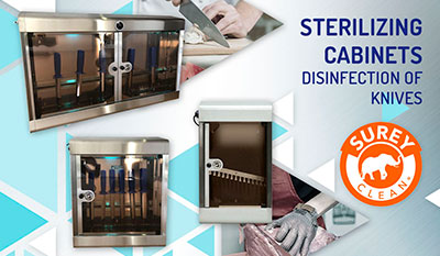 Disinfection of knives: new products for your sterilization | Reysan