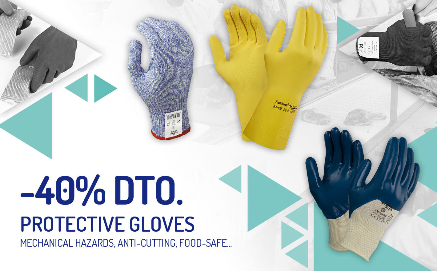40% discount on selection of protective gloves