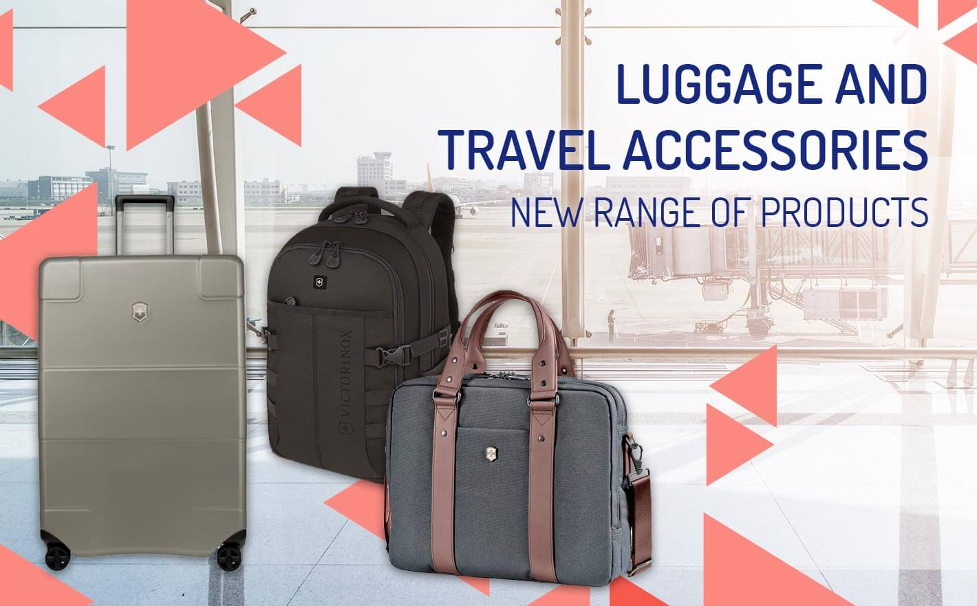 New range of luggage and travel accessories at Reysan