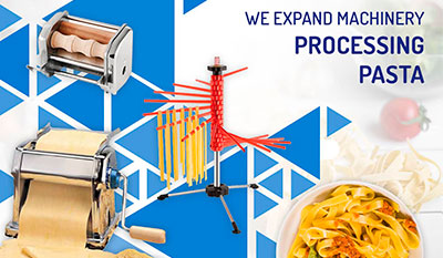 New products for pasta processing | Reysan