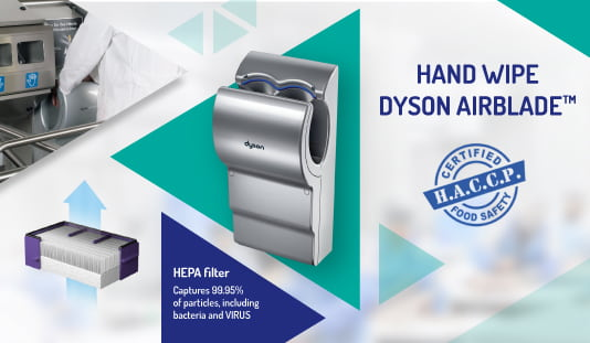 Dry, clean hands without bacteria or viruses | Reysan