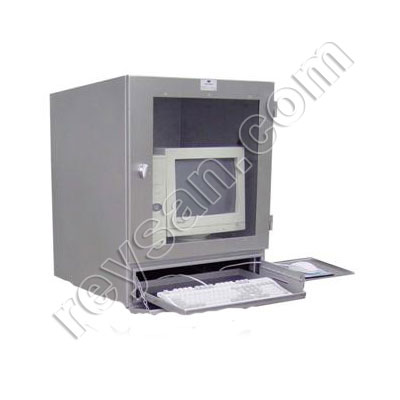 STAINLESS STEEL COMPUTER CABINET