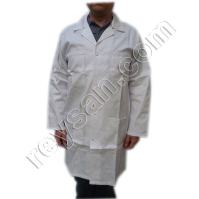 COTTON WORK COAT WITH HOOK