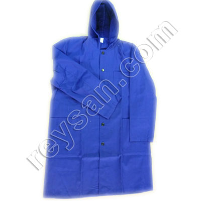 TERGAL WORK COAT WITH HOOD