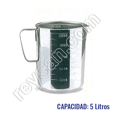 STAINLESS CONICAL MEASURING JAR