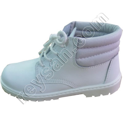 LACE BOOTS WHITE 856.