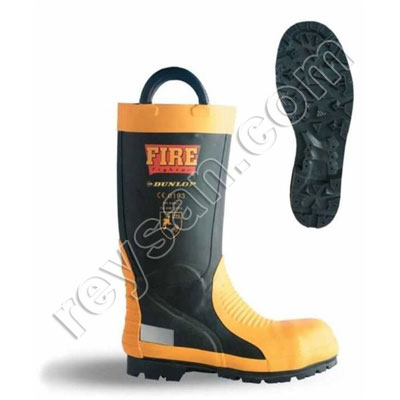 FULL FIREFIGHTER BOOTS W/TOE-TIP