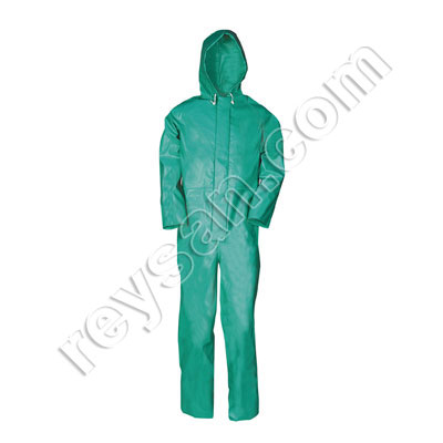 CHEMTEX COVERALL GREEN