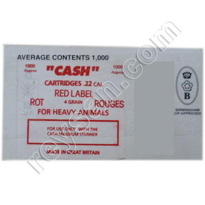CASH ORIGINAL BLANKS RED 1000