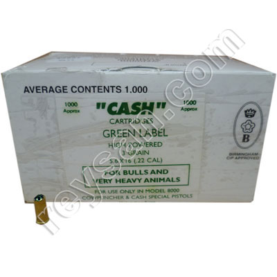 CASH ORIGINAL BLANKS GREEN 1000