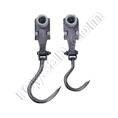 STAINLESS STEEL AERIAL HOIST W/HOOK