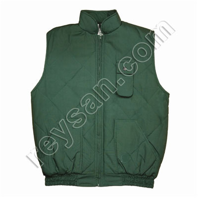 PADDED VEST FOR COLD