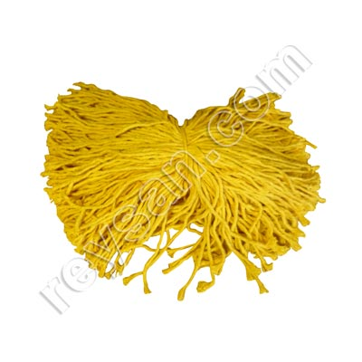 COTTON ROPE YELLOW 1KG