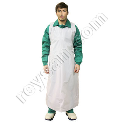 THICK DISPOSABLE APRON 50U