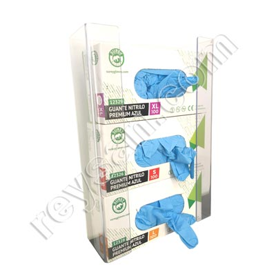 TRIPLE PVC GLOVES DISPENSER