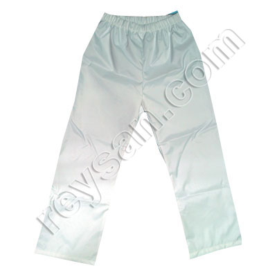 WHITE NEOPRENE PANT