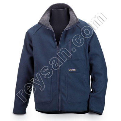 FLEECE REVER.BLUE/GREY