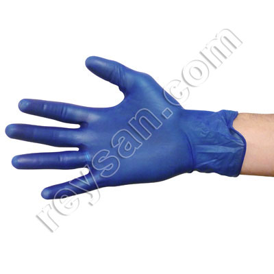 DETECTABLE VINYL GLOVE 100 PCS.