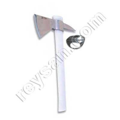 POINTED AXE INOX CHAMER