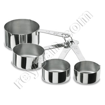 SET OF 4 MEASURING CONTAINERS 67007