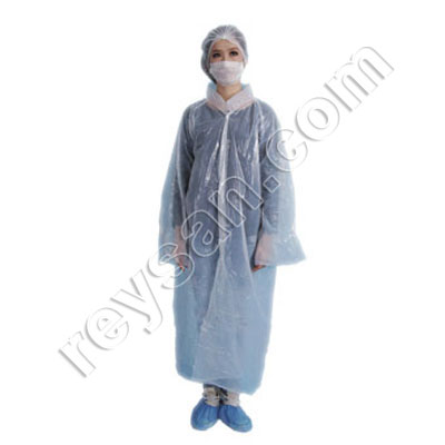 KIT 4 (COVERALL P. HAIR COVER.SOFT SOCKS PAIR)
