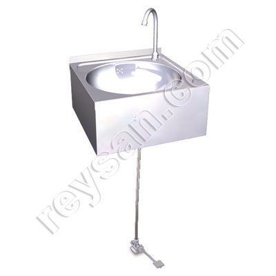 WALL MOUNTED WASHBASIN WITH PEDAL R.061204