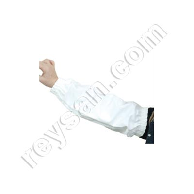 PVC OVER-SLEEVE 45 CM WHITE.PC.