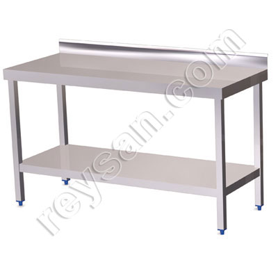 WALL MOUNTED TABLE INOX