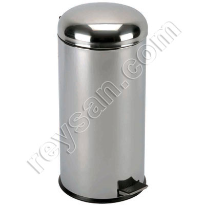 STAINLESS STEEL PEDAL TRASH BIN 20LT