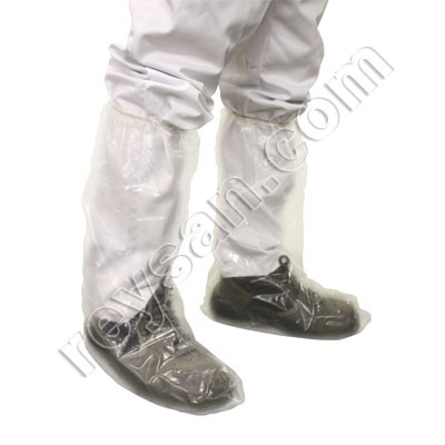 HIGH PLASTIC SHOE COVER (50PCS)