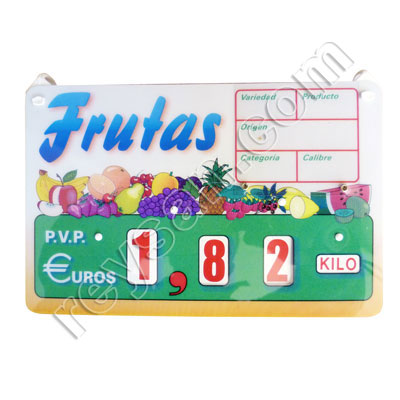 PRICE STAND 6 FRUIT CANADA