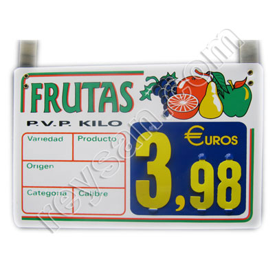 PRICE STAND 9 FRUIT HAWAY