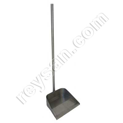TRASH BAG SCOOPER INOX.HANDLE