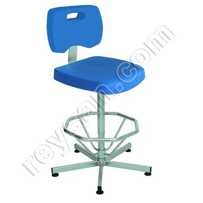 HIGH STAINLESS STEEL CHAIR