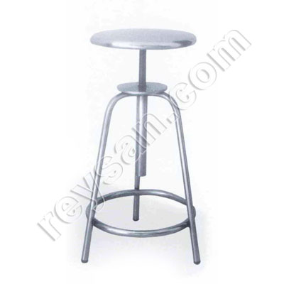 STAINLESS STEEL STOOL 50 TO 75CM