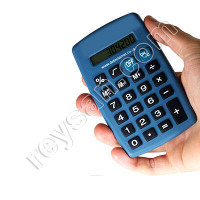 DETECTABLE BLUE CALCULATOR