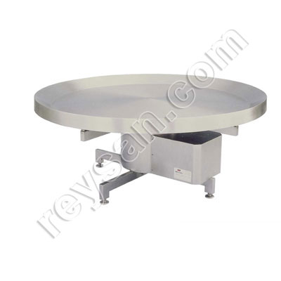 REVOLVING MOTOR TABLE INOX