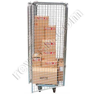 ZINC PLATED SECURITY STEEL CAGE