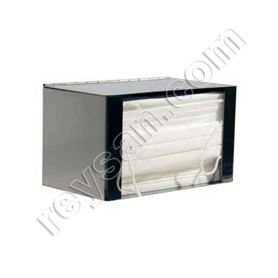 DISPENSER INOX MASK W/HOOD