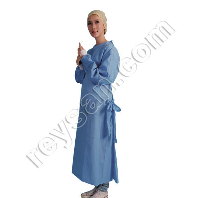 SURGICAL GOWN SMS BLUE