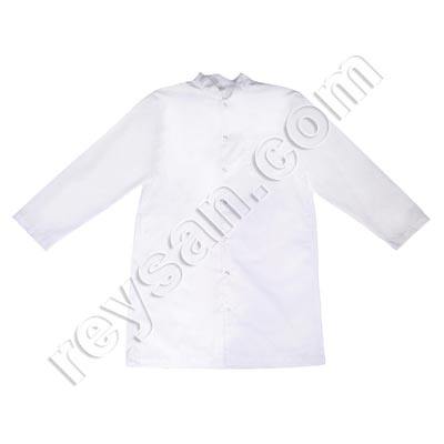WHITE TERGAL COVERALL CYNDE