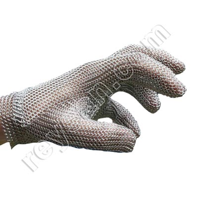 DETECTABLE MESH GLOVE