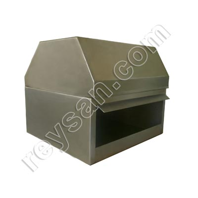 STAINLESS STEEL ROLL DISPENSER