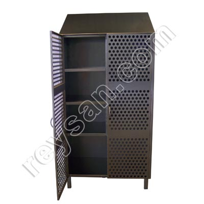 STAINLESS STEEL CLEANING CUPBOARD