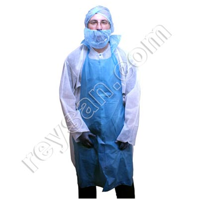 DETECTABLE DISPOSABLE APRON