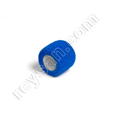 SELF-ADHESIVE BLUE BANDAGE 10U